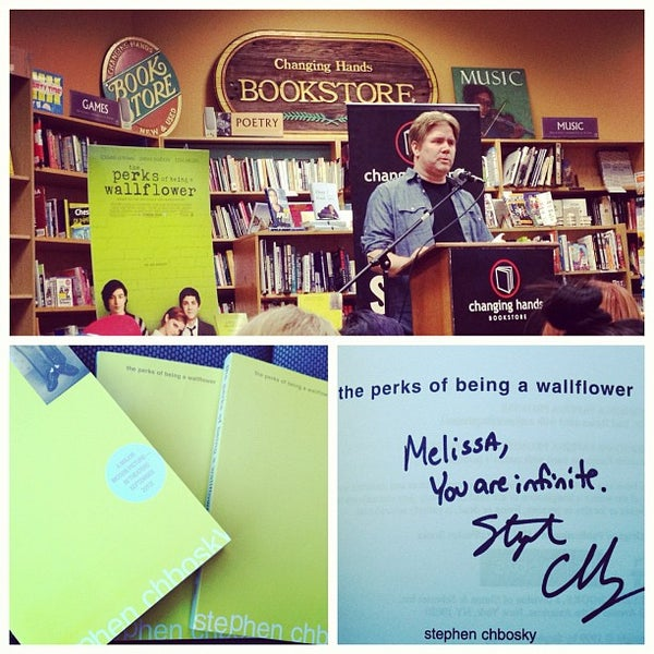 Photo taken at Changing Hands Bookstore by Lissa B. on 8/31/2012