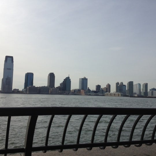 Photo taken at Battery Park City Esplanade by Jigesh M. on 4/14/2012