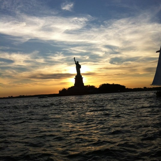 Photo taken at New York Harbor by dan e. on 6/16/2012