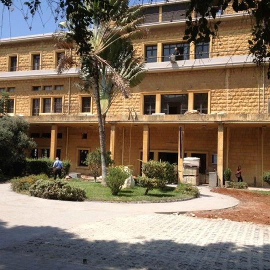 Photo taken at Holy Spirit University Of Kaslik by Elise R. on 9/5/2012