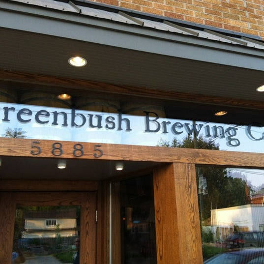 Photo taken at Greenbush Brewing Company by Paul on 7/31/2012