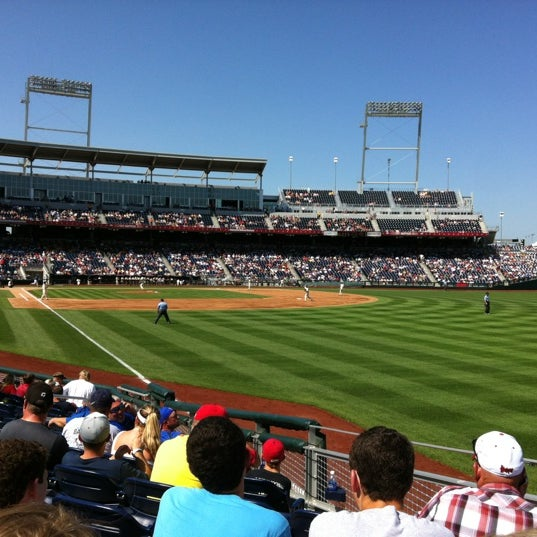 Photo taken at TD Ameritrade Park by Blair C. on 6/18/2012