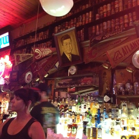 Photo taken at Manuel's Tavern by Mo M. on 5/21/2012