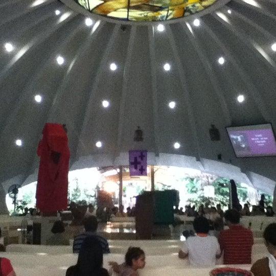 Photo taken at Sto. Niño de Paz Community Chapel by Ralph T. on 4/6/2012