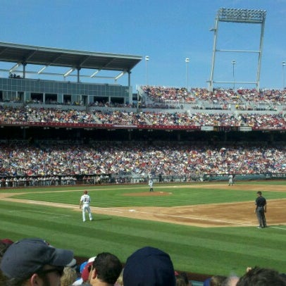 Photo taken at TD Ameritrade Park by Jack H. on 6/16/2012