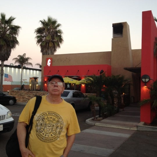Photo taken at Fat Fish Cantina Grill by Marilena C. on 8/19/2012