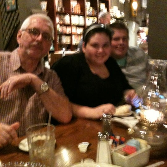 Photo taken at Cracker Barrel Old Country Store by SteveandTherese O. on 3/9/2012