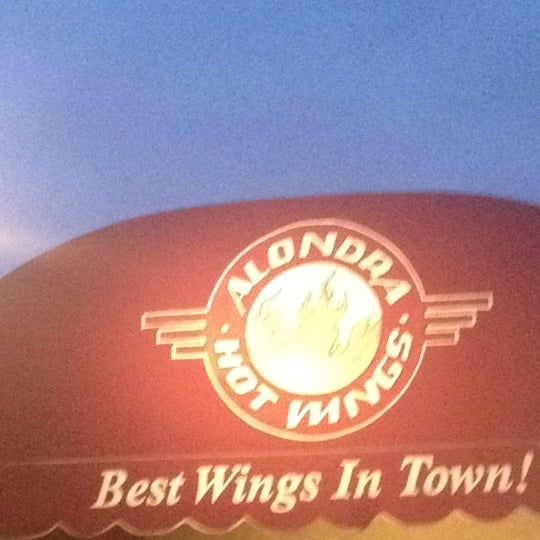 Photo taken at Alondra Hot Wings by Martha on 6/16/2012