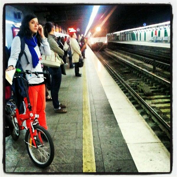 Photo taken at Estació de Tren - València-Cabanyal by Ferran L. on 7/30/2012