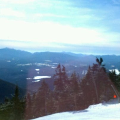 Photo taken at Whiteface Mountain by Aaren A. on 2/8/2012