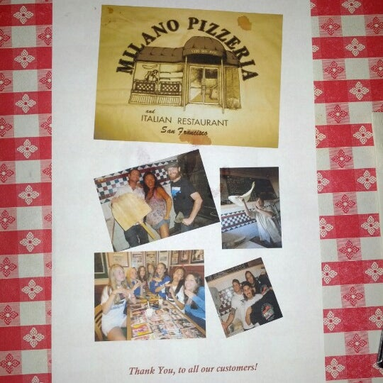 Photo taken at Milano Pizzeria by Andrew D. on 9/2/2012