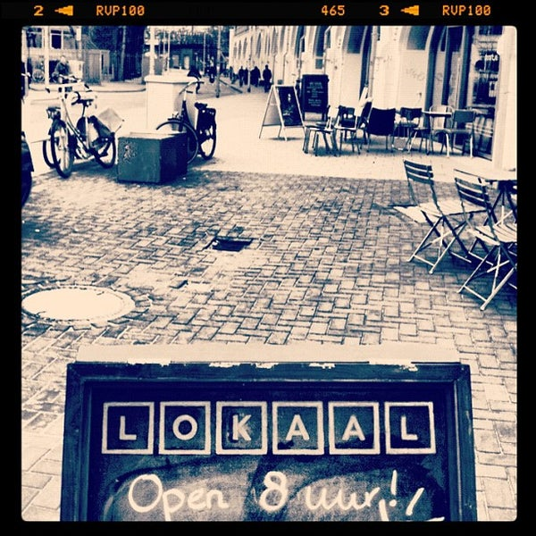 Photo taken at Lokaal Espresso by Christine F. on 3/14/2012
