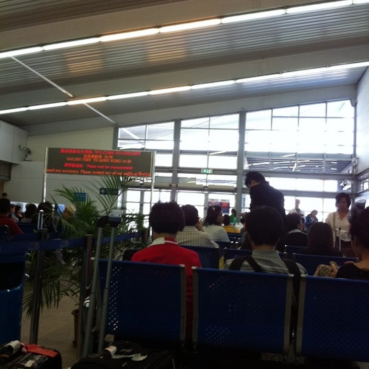 Photo taken at Taipa Ferry Terminal by Dee H. on 4/13/2012