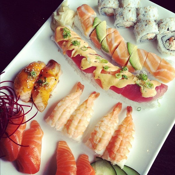 Photo taken at Hana by Sushi Hana by Doniree W. on 5/9/2012