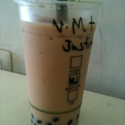 Photo taken at Moonleaf Tea Shop by Justin C. on 7/30/2012