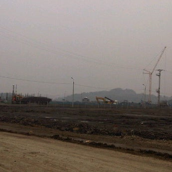 Photo taken at Mong Duong Power Plant Site by Hendrick V. on 2/8/2012