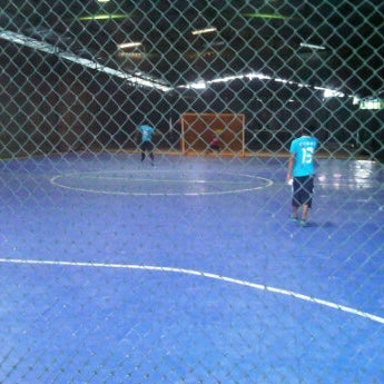 Photo taken at Anis & Eisya Danau Futsal by Ameer H. on 4/7/2012