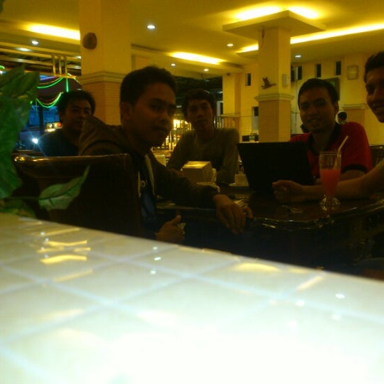 Photo taken at Mawar Bakery and Cake Shop by Heri S. on 9/12/2012