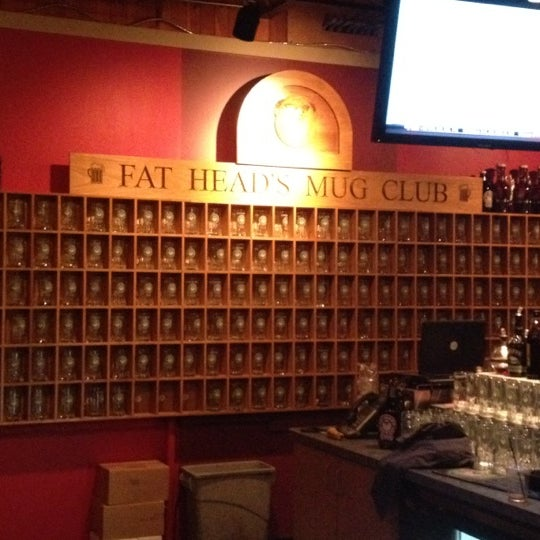 Photo taken at Fat Head's Brewery & Saloon by David V. on 7/20/2012