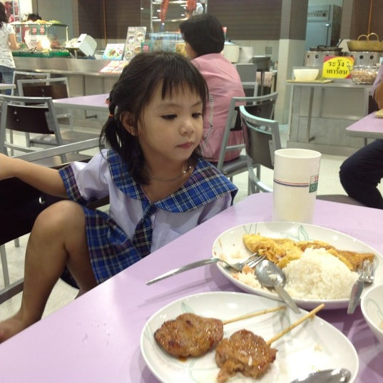Photo taken at Food Court by Papada T. on 8/7/2012