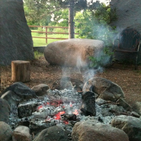 Photo taken at Big Stone Mini Golf & Sculpture Garden by Chris P. on 6/3/2012