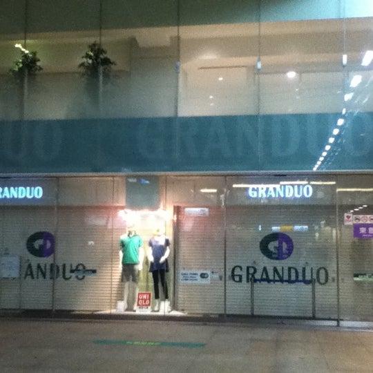 Photo taken at GRANDUO Kamata by Norikazu N. on 7/31/2012