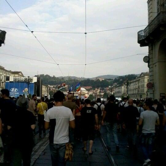 Photo taken at Via Po by euridice D. on 6/16/2012