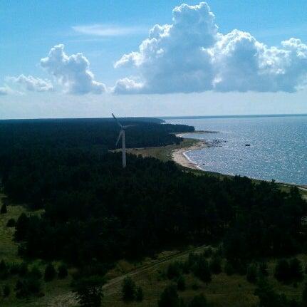 Photo taken at Tahkuna tuletorn by Evgeniy K. on 8/18/2012
