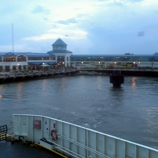 Photo taken at Cape May-Lewes Ferry | Cape May Terminal by Dan P. on 7/16/2012