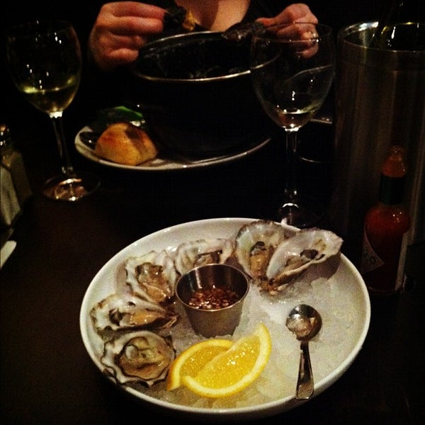 Photo taken at Mourne Seafood Bar by Richard W. on 3/16/2012