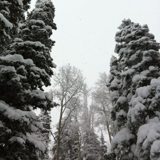 Photo taken at Steamboat Resort by Justin R. on 3/3/2012