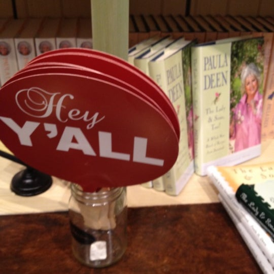 Photo taken at The Paula Deen Store by Samantha M. on 3/29/2012