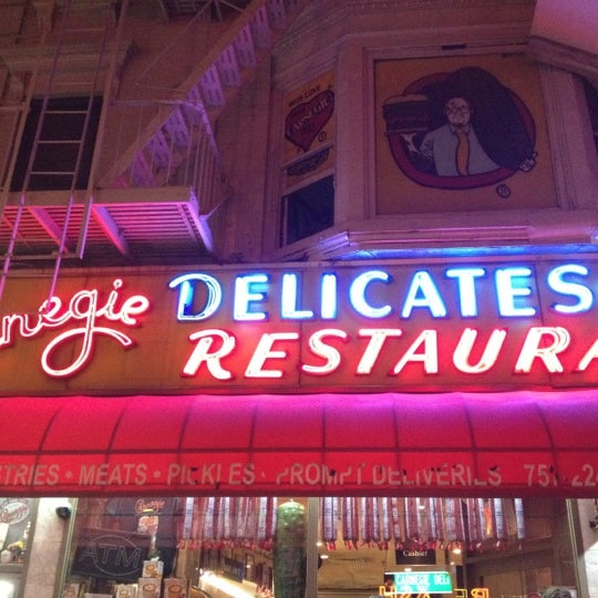 Photo taken at Carnegie Deli by CanD-Ice B. on 8/29/2012