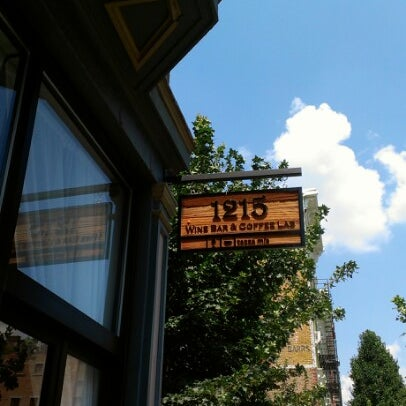 Photo taken at 1215 Wine Bar & Coffee Lab by Cameron W. on 7/30/2012