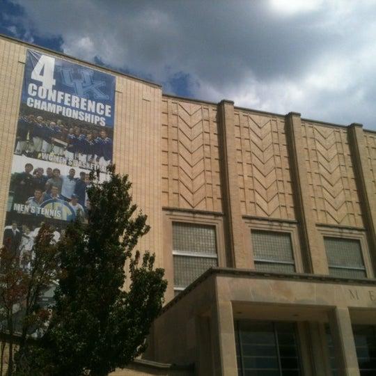 Photo taken at Memorial Coliseum by Peyton O. on 8/19/2012