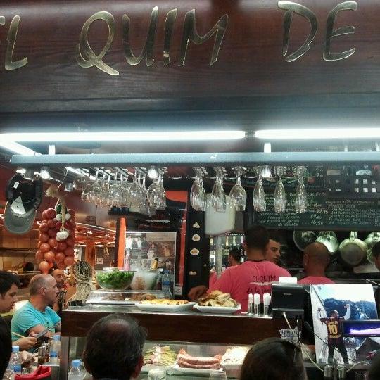 Foto tomada en El Quim de la Boqueria por macintas el 8/18/2012