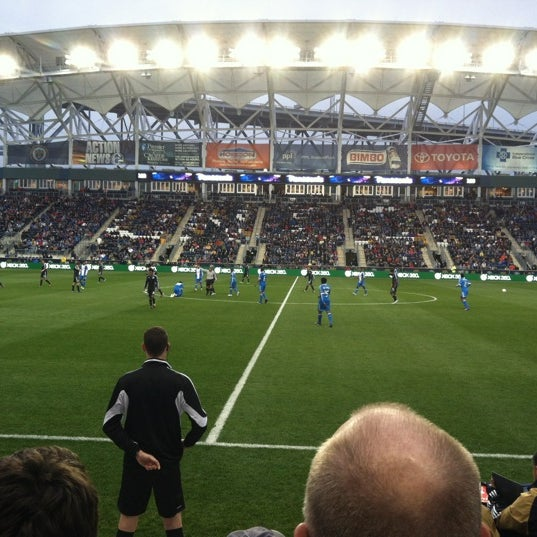 Photo taken at Talen Energy Stadium by Julie M. on 4/28/2012