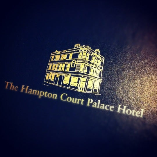 Photo taken at Hampton Court Palace Hotel by Kittiphong B. on 4/14/2012