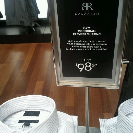 Photo taken at Banana Republic by Geoff S. on 5/10/2012
