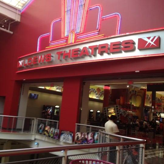 Photo taken at AMC Loews Palisades Center 21 by Tiffanni J. on 6/10/2012