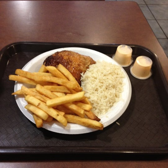 Photo taken at Crisp & Juicy Chicken by James S. on 4/12/2012