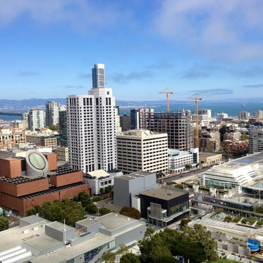 Photo taken at San Francisco Marriott Marquis by Ashlee A. on 8/19/2012