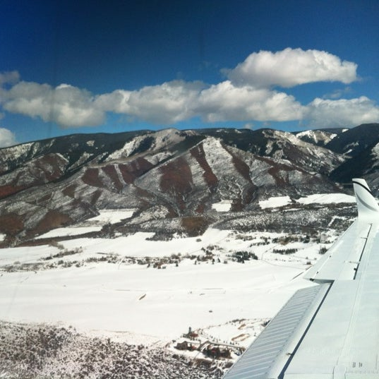 Photo taken at Aspen/Pitkin County Airport (ASE) by Juan Pablo on 2/16/2012