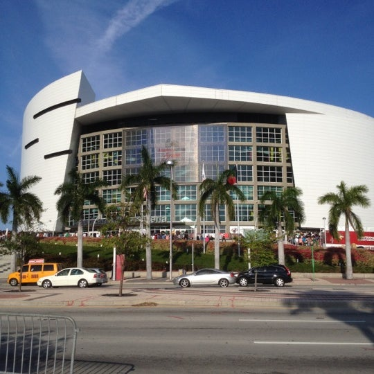 Photo taken at American Airlines Arena by Douglas S. on 4/10/2012