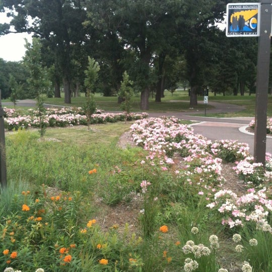 Photo taken at Loring Park by Luísa C. on 8/12/2012