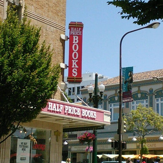 Half Price Books Bookstore In Berkeley