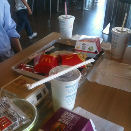 Photo taken at McDonald's by Andres R. on 2/29/2012