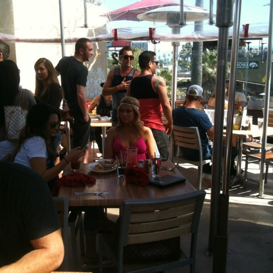 Photo taken at Firehouse Pacific Beach by Jason B. on 4/15/2012