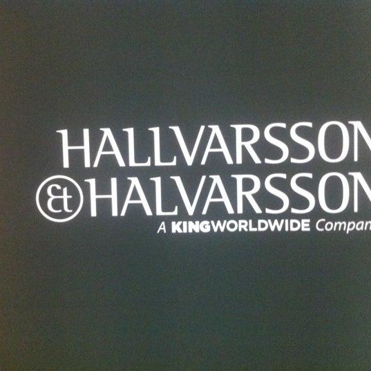 Photo taken at Hallvarsson & Halvarsson by Thomas K. on 8/31/2012