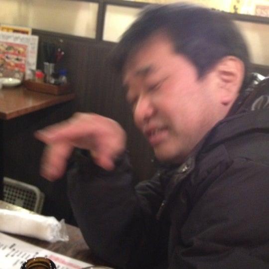 Photo taken at 日本橋 紅とん 池袋ビックリガード店 by sakamomo on 2/28/2012